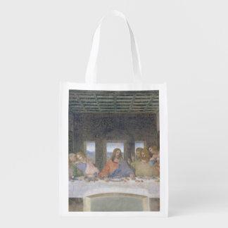 A última ceia, 1495-97 (fresco) sacola ecológica para supermercado