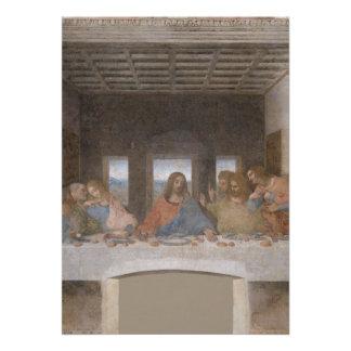 A última ceia por Leonardo da Vinci Convites Personalizados
