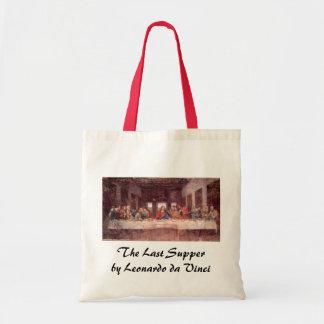 A última ceia por Leonardo da Vinci, renascimento Bolsa Tote