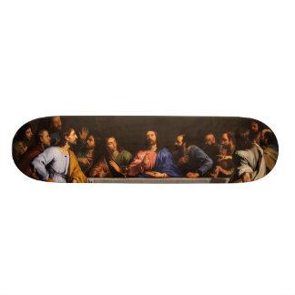 A última ceia por Philippe de Champaigne (1648) Shape De Skate 18,4cm