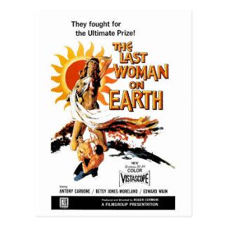 """""""A última mulher cartão na terra"""""""