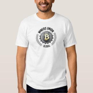 A união do mineiro global t-shirt