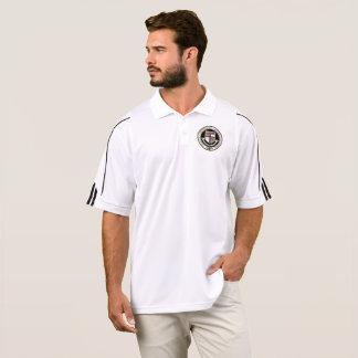 A universidade Adidas de Miskatonic Golf a camisa