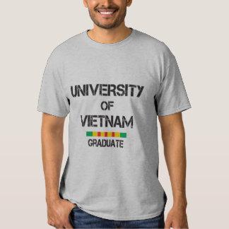 A universidade de Vietnam afligiu 1 formando Tshirts