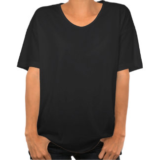 A V-Camisa das mulheres da capa da montagem T-shirt