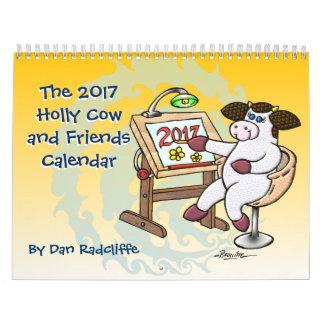 A vaca 2017 do azevinho e o calendário dos amigos