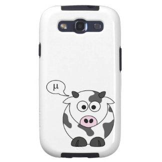 A vaca diz o μ capa personalizadas samsung galaxy s3