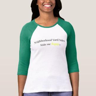 A venda de jardim da vizinhança faz-me a camisa