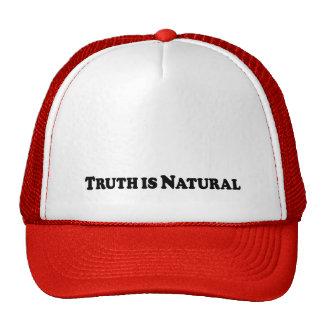 A verdade é natural - básico boné