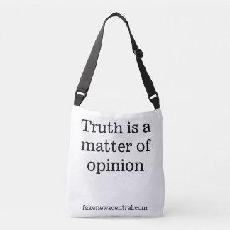 A verdade é uma matéria do bolsa da opinião