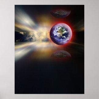 A viagem da terra poster
