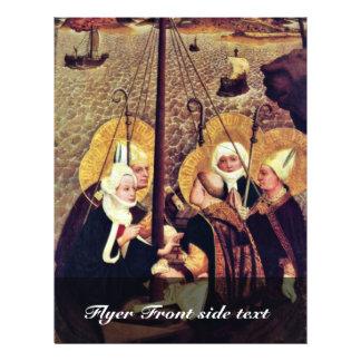A viagem do mar do santamente por Moser Lucas (o m Panfleto Personalizados