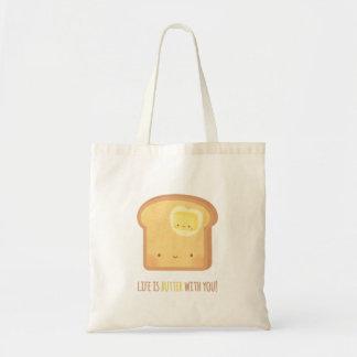 A vida bonito é manteiga com você o bolsa da