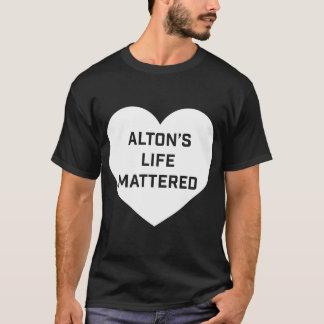 A vida de Alton importou Camiseta