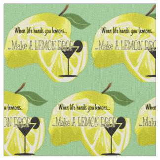 A vida de gota do limão dá-lhe o tecido dos limões