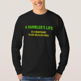 A vida do jogador t-shirts