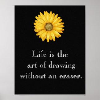 A vida é arte --- Poster da arte
