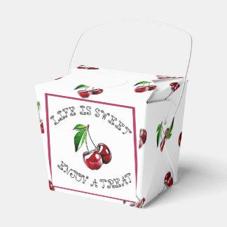 A vida é doce, caixa do favor dos doces do partido