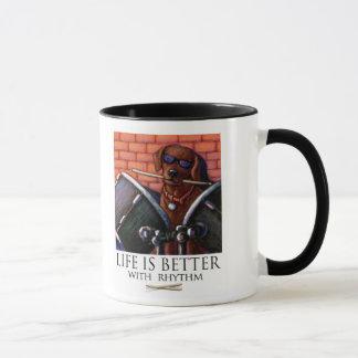 A vida é melhor com ritmo - baterista do caneca