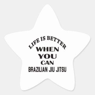 A vida é melhor quando você pode brasileiro Jiu Adesito Estrela
