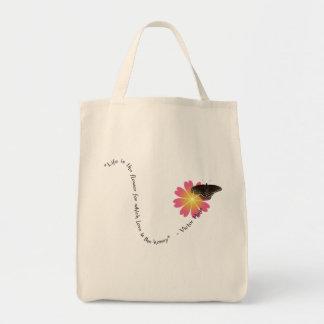 """A """"vida é"""" o bolsa do mantimento"""