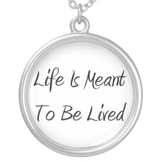 A vida é significada ser colar vivida do círculo