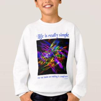 a vida é simples (3) agasalho