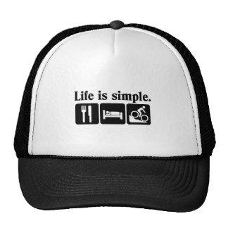 A vida é simples, bicicleta bone