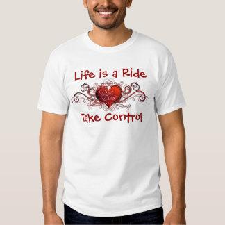 A vida é um passeio - divas RC de Dixie Tshirts