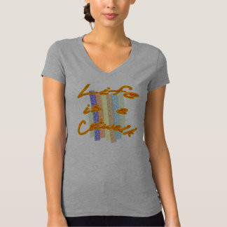 A vida é uma passarela camisetas