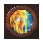 A vigia de Steampunk da nebulosa do Medusa Impressão Em Tela