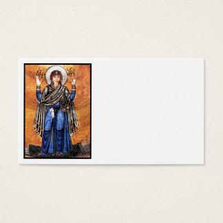 A Virgem Maria Oran Cartão De Visitas