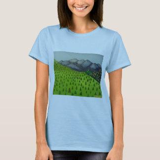 A vista da montagem Baldy por Julia Hanna Camiseta
