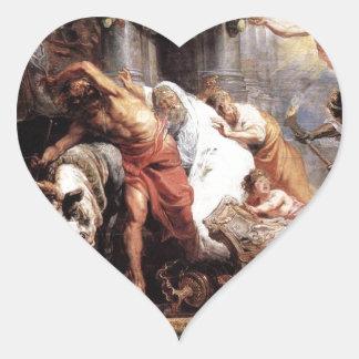 A vitória da verdade eucarística sobre o heresia adesivo coração