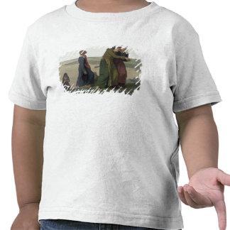 A viúva ou a família do pescador camisetas