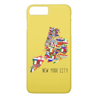 A vizinhança da Nova Iorque embandeira a capa de
