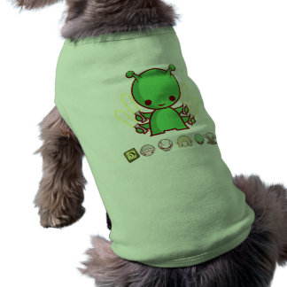 AaT - marcianos Camisa Sem Mangas Para Cachorro