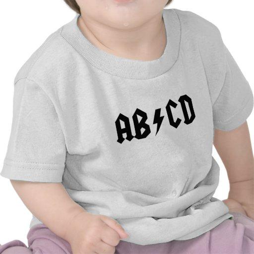 AB/CD CAMISETA