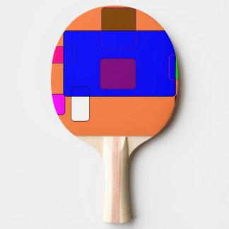 Aba - arte abstracta raquete para ping pong
