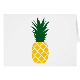 Abacaxi Cartão Comemorativo