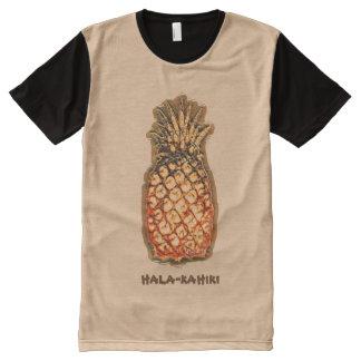 Abacaxi por Aleta Camisetas Com Impressão Frontal Completa