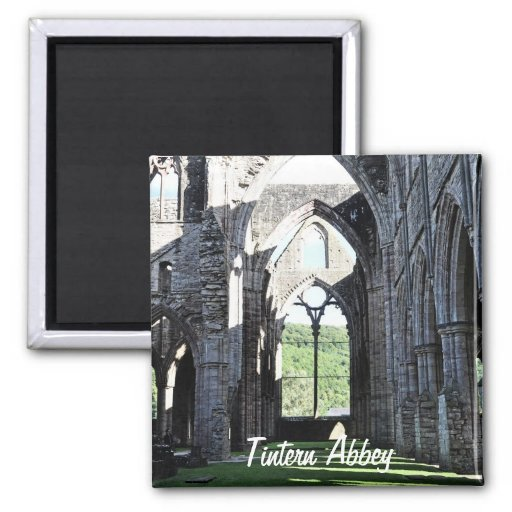 Abadia antiga de Tintern, monastério Cistercian, Imã