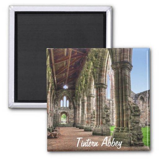 Abadia antiga de Tintern, monastério Cistercian, Imãs