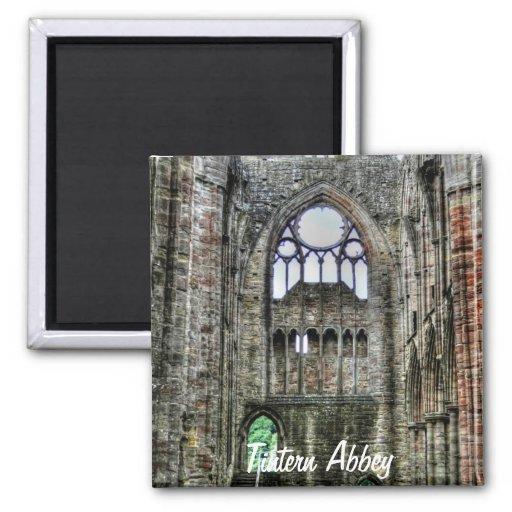Abadia antiga de Tintern, monastério Cistercian, Imã De Geladeira