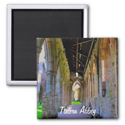 Abadia antiga de Tintern, monastério Cistercian, Ima