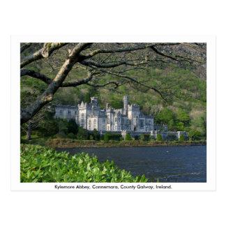 Abadia de Kylemore, Connemara, Co. Galway Cartão Postal
