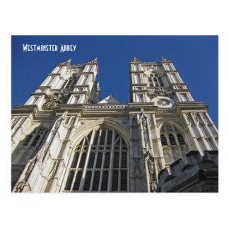Abadia de Westminster, Londres Inglaterra Cartão Postal