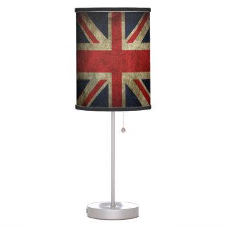 Abajur Amor britânico Grâ Bretanha da bandeira do Grunge