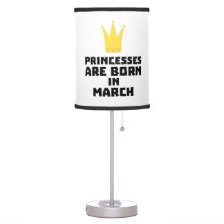 Abajur As princesas são em março Z1szr nascidos