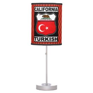 Abajur Candeeiro de mesa americano turco de Califórnia